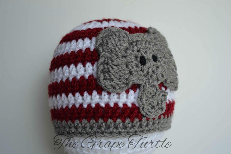 Free Crochet Pattern Alabama Elephant Hat ~ Pakbit for .