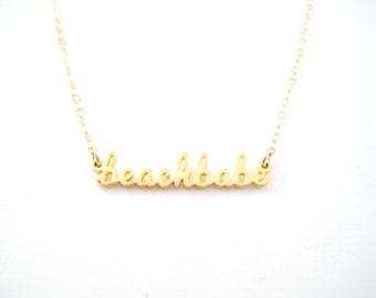 SALE Beach Babe Necklace - 1004
