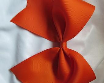 "3"" Solid Orange Cheer Bow - #195718884"