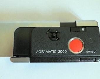 Agfa Agfamatic 2000 1970's Vintage Pocket Sensor  Camera, Germany