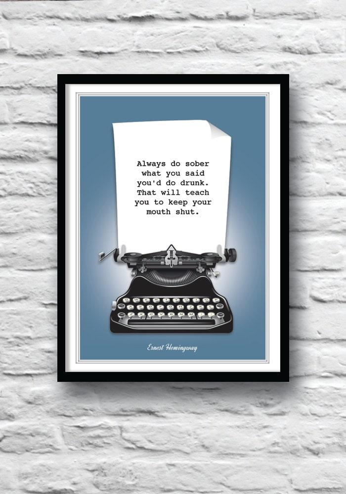 Literature poster   Etsy