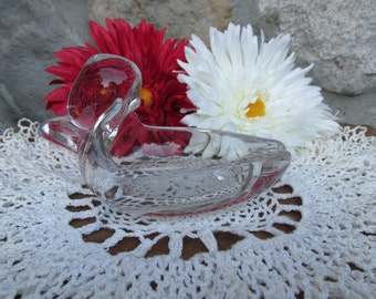 Mid Century Duncan And Miller Crystal Duck Ashtray Pal Mall Line