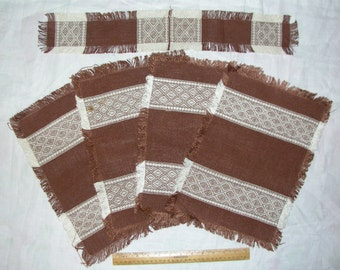 Popular Items For Brown Placemats On Etsy