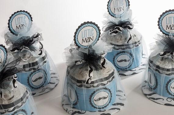 Diaper Cake - Diaper Cakes - Mustache Diaper Cake - Mustache Baby Shower - Baby Shower Decor - Little Man Baby Shower