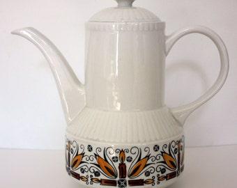 Vintage Kathie Winkle 'Versailles' Coffee Pot