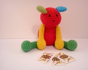Diy Amigurumi Animals : Amigurumi dog DIY Crochet PATTERN dog Amigurumi animal ...
