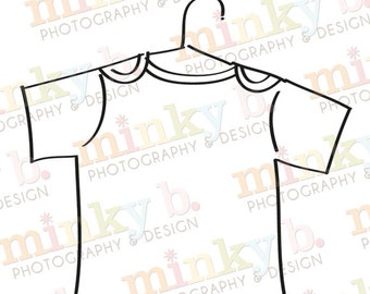 """INSTANT DOWNLOAD Digital Stamp """"Oh Baby! Shirt"""" by Minky B Designs"""