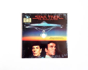 Vintage Star Trek The Motion Picture Record Book FACTORY SEALED