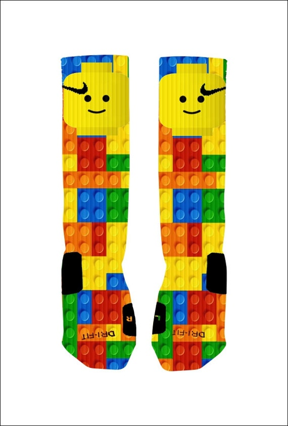 Custom lego socks custom nike elite socks by shopelevategear