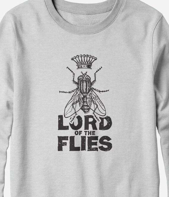 Sweatshirt - Lord of the Flies - William Golding - literary sweatshirt -You Choose Color