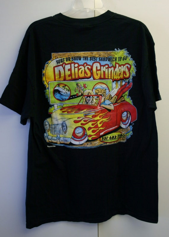 Size XL Hanes Beefy-T 100% Cotton D'Elia's Grinders Riverside ...