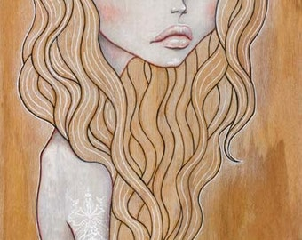 "Print of my original illustration ""Anna"""