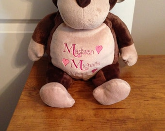 Personalized Stuffed Animal-Monkey