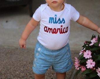 Miss America Bodysuit