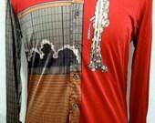 1970's Designer Nik Nik Shirt  FREE SHIPPING