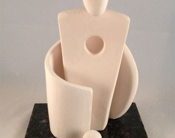 Abstract Porcelain Sculpture