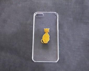 Cute iPhone5 Case iPhone 5s Cases Cat Transparent iPhone 6 Case Clear  S5 iPhone 6s  Cat iPhone 6s iPhone 7 Kitten iPhone 6 Plus