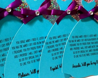 Will you be my bridesmaid/maid of honor?