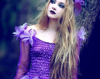 Adult Fairy Costume  ~  Halloween ~ Gothic ~  Sorceress ~ Medieval ~Theatre ~