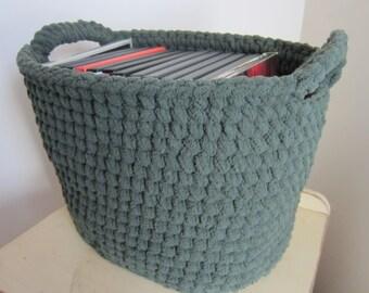 My Poppet – Crochet Heart Shaped Storage Baskets