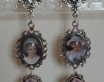 Princess Diana Lady Di Earrings