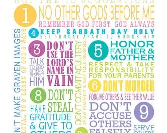 PRINT • 10 Commandments - Dos & Don'ts