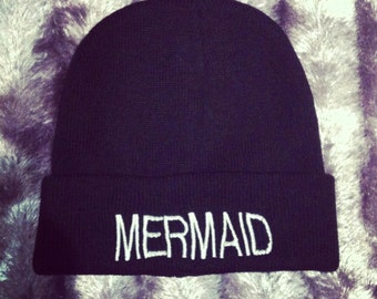 Mermaid Beanie hat
