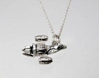 Firefly silver necklace