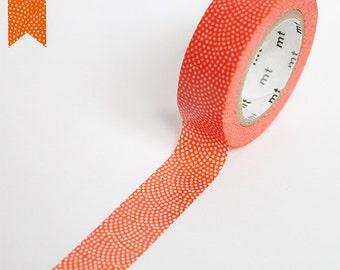 MT Washi Tape - Samekomon Kaki - Japanese pattern