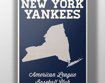 New York Yankees Minimalist Print