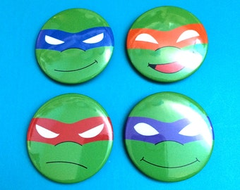 Teenage Mutant Ninja Turtles Pinback Buttons