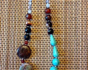 Turquoise Anthropologie Inspired Necklace