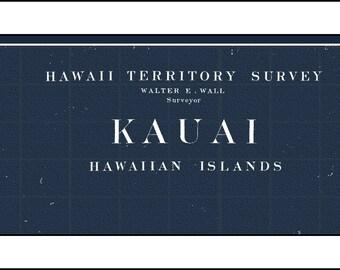 KAUAI Map, Hawaian Map, Oahu Map, Hawaii,  Kauai, Oahu, Maui, and Hawaii.