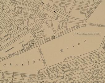 Baltimore Map Baltimore Street Map Antique Maryland 1925