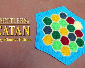 Settlers of Catan Baby Blanket