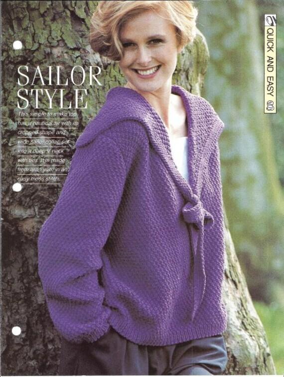 Knitting pattern - Womans