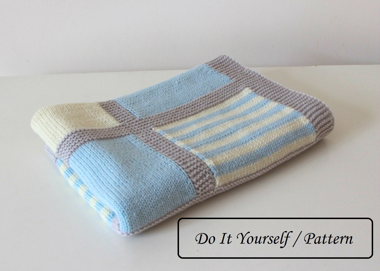 Knit baby blanket pattern / baby blanket by ...