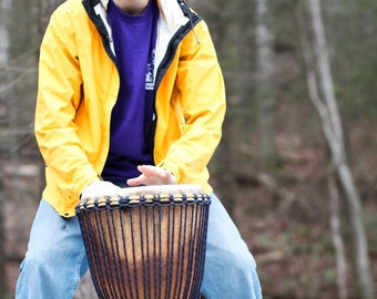 Custom-Built African Djembe Drum