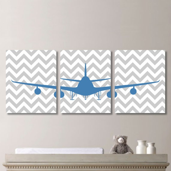 Boy S Room Airplane And Constellation Wall Map: Baby Boy Nursery Art Print Airplane Nursery Art Boy