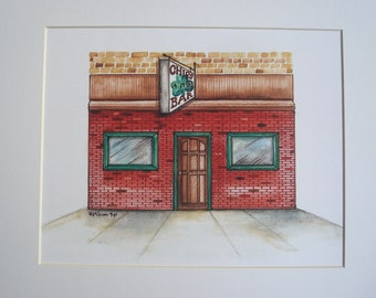Chips, by Karen Paciullo, 2014, Throggs Neck, Bronx, NY,  ready to frame art print