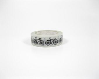 Washi Paper Tape | Bicycle Washi | Craft Tape | Scrapbook Tape | Decorative Tape | Bike Washi | Velo Washi Tape | Bicycle Washi Tape