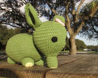 Eleanor the Elephant, Made to Order Crochet Amigurumi