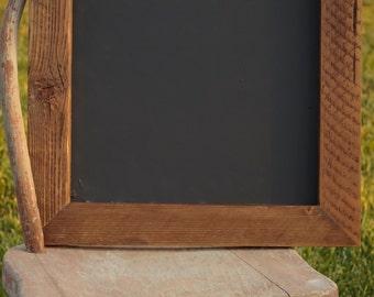 Chalkboard, Rustic Frame, Farmhouse decor, Wedding decor, wedding display, Reclaimed wood from 100 year old vineyard