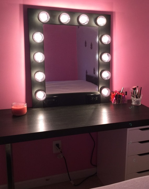 Vanity Makeup Mirror With Lights Available Built By