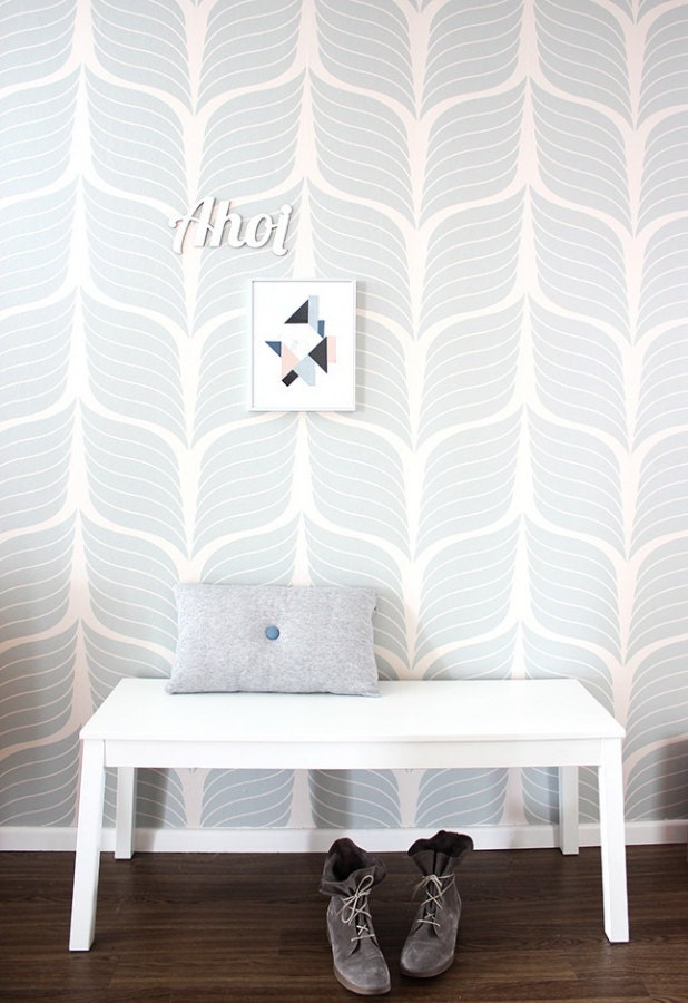 self adhesive vinyl temporary removable wallpaper wall by