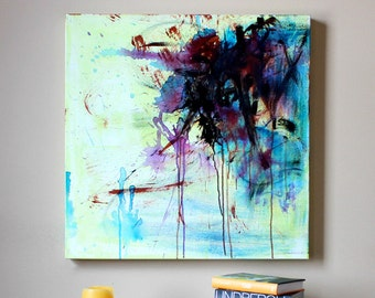 ORIGINAL Abstract Colorful Painting