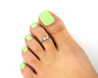 Sterling Silver Turquoise Toe Ring