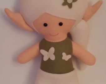 5beb5d220d9 Clearance PATTERN Yo Yo Christmas Elf dolls by Indygo Junction from ...