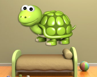 Wall decals turtle A207 - Stickers tortue A207