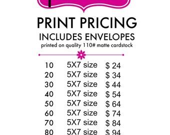 Pink Pop Roxx - Print Packages